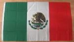 Mexico Large Country Flag - 3' x 2'.